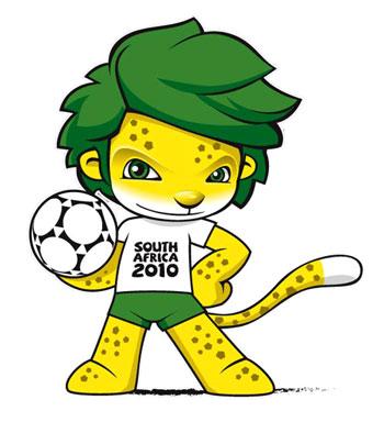 Foto do Mascote da Copa do Mundo de 2010 Mascote da Copa Do Mundo 2010