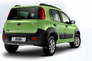 Fotos do Novo Carro da Fiat Uno Modelo 2010 / 2011 Fiat Uno Way 300x199