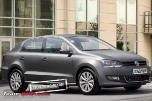 VW Polo Sedan 2011 300x200