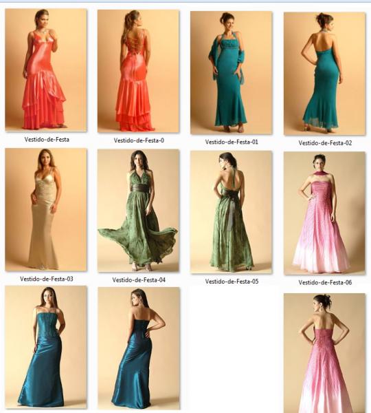 Vestido de Festa   Vestidos Com Tamanho P M G e GG Vestido de Festa 540x600