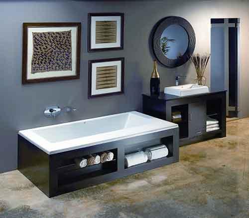 Dicas de Decoração de Banheiro com Banheira banheira2