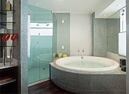 Dicas de Decoração de Banheiro com Banheira banheiros com banheira 1