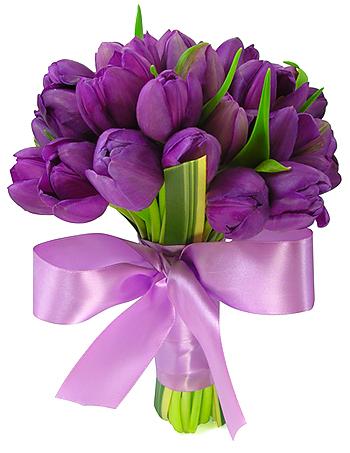 Buque De Flores Para Dia Das Mães bouquet noiva tulipas roxa