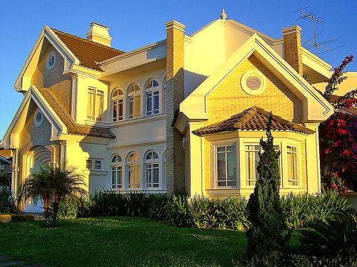 Casas Luxuosas e Casas Modernas  casa luxuosa