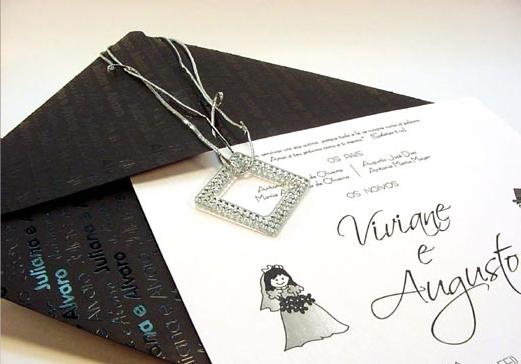 Modelos de Convites Para Casamento   Fotos convite cas011