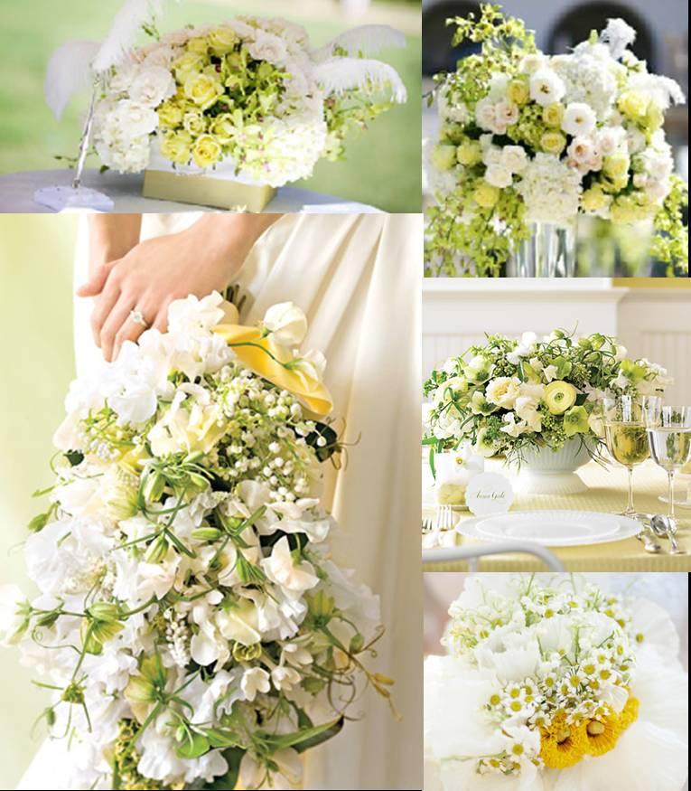 Decoração de Arranjo de Flores Para Casamento dia