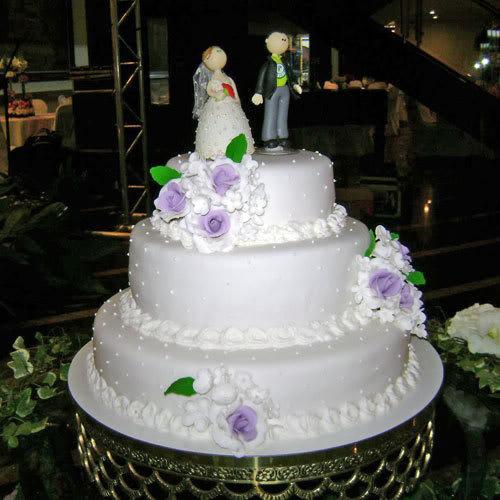 Modelos de Bolos de Casamento Sofisticados  foto bolo de casamento 08