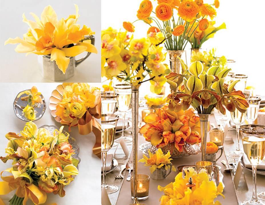 Decoração de Arranjo de Flores Para Casamento imagem11