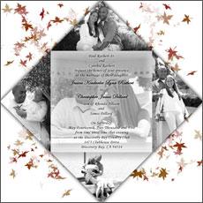 Modelos de Convites Para Casamento   Fotos modelo montagem convite de casamento