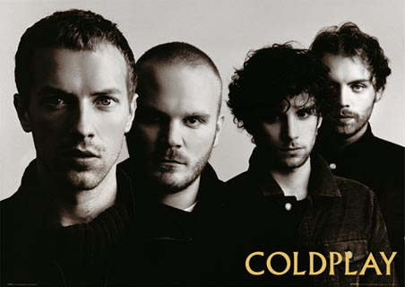 Sucesso Da Banda De Rock ColdPlay  Banda Coldplay