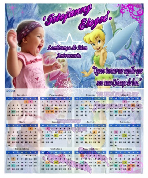 Calendários Personalizados Calendarios Persona