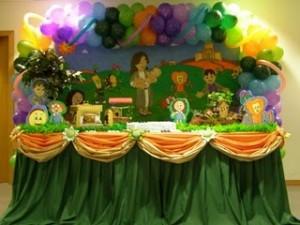 Festa de Aniversario Infantil   Decoração de um Ano. arca de noè 300x225