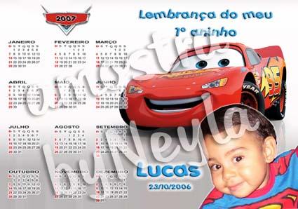 Calendários Personalizados calendario bebe