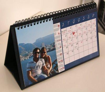Calendários Personalizados calendario mesa