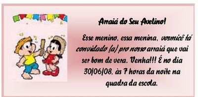 Dicas De Convites Para Festa Junina convite festa junina 3