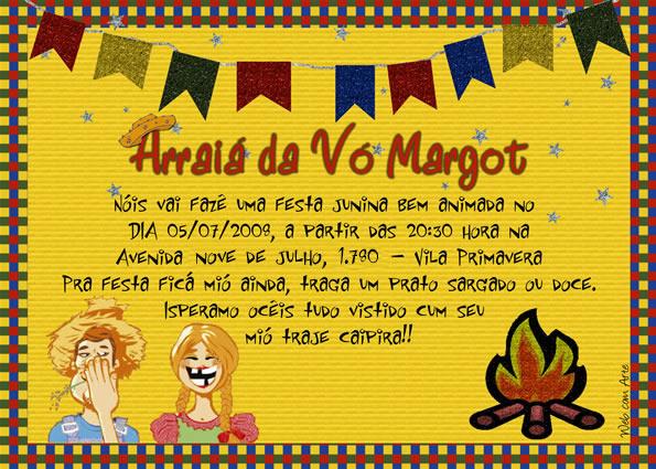 Dicas De Convites Para Festa Junina convite junino 4