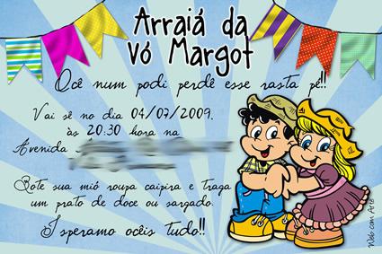 Dicas De Convites Para Festa Junina convite junino