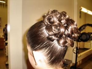Modelos de Penteados penteado daminhas 300x225