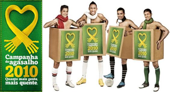 Campanha Do Agasalho 2010 Com Neymar Campanha do Agasalho