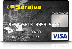 Cartão de Crédito Saraiva  Como Adquirir o Cartão Online cartão de credito1