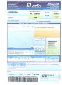 Coelba  2º Via de Conta Online conta da coelba 218x300