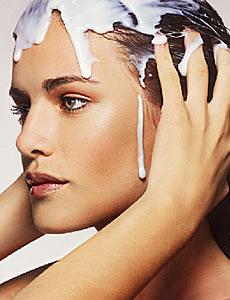 Máscara Caseira Para Tratamentos dos Cabelos com Iogurte iogurte