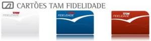 TAM  Cartão Fidelidade TAM cartão fidelidade TAM 300x83