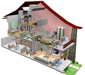 Plantas de casas gr tis modelo de planta baixa e projeto for Casa moderna sketchup download