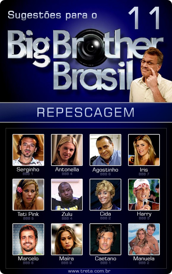 Fotos Dos Participantes Do BBB 2011