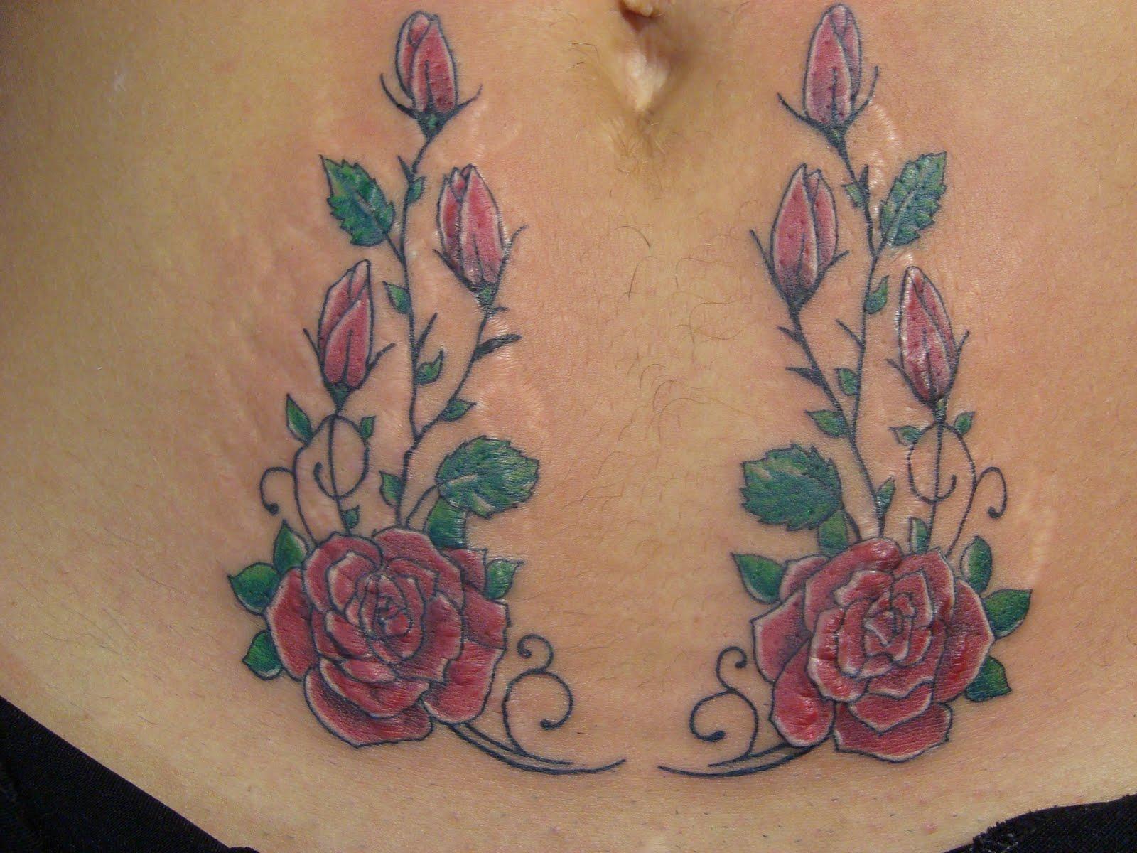 Tatuagens Que Servem  Para Disfarçar Estrias  dragao estria