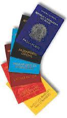 Tipos de Passaporte emergencia