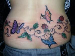 Tatuagens Que Servem  Para Disfarçar Estrias  tampa estria 300x225