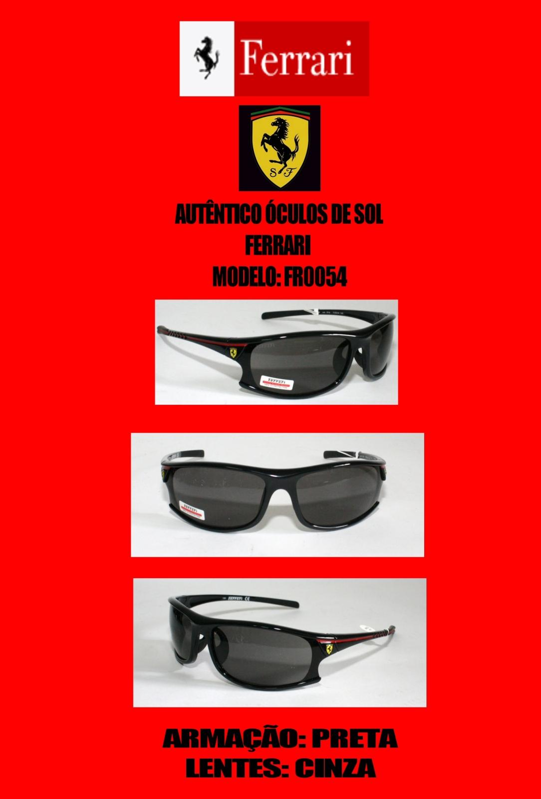 Óculos de Sol Ferrari oculos de sol ferrari