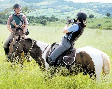 Colônia de Férias a Cavalo SP cavalgada