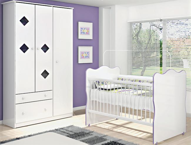 Casas Bahia Bebês quarto bebe meninas
