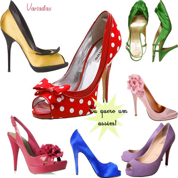 Sapatos da moda 2012