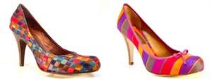 Sapatos Coloridos Moda Verão 2011
