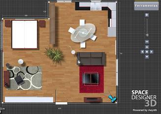 simulador 3d de ambiente online
