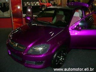 Ver Fotos de Carros Tunados  celta tunado rosa