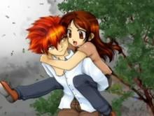 Crepúsculo em Versão Animê cena crepusculo em anime novidade