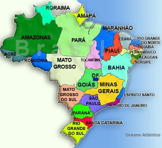 Mapa do Brasil mapa brasil