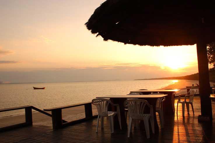 Pousadas de Luxo na Ilha do Mel pousada por do sol
