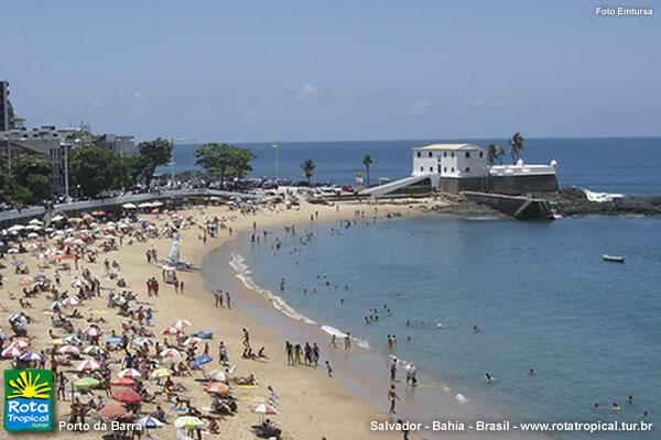 Lugares Para Passear em Salvador BA praia porto da barra salvador