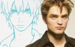 Crepúsculo em Versão Animê robet crepusculo saga em anime 300x187
