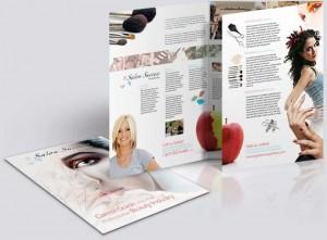 Modelos de Panfletos Para Salão de Beleza Modelos de Panfletos 300x221