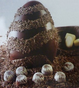 Decoração de Ovos de Páscoa  Modelos Ovo de Páscoa com Brigadeiro 269x300