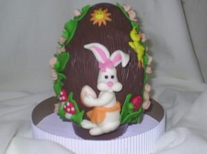 Decoração de Ovos de Páscoa  Modelos Ovos de Páscoa 300x224