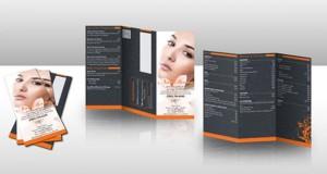 Modelos de Panfletos Para Salão de Beleza Panfletos Salao de Beleza 300x160