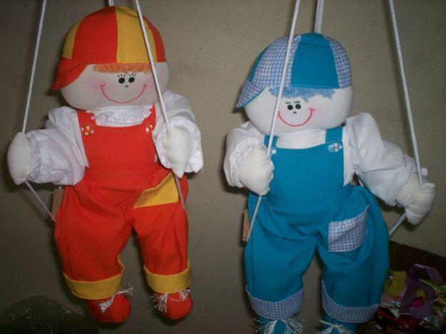 Bonecas de Panos Para Decoração de Quartos de Bebês bonecos pano para merninos