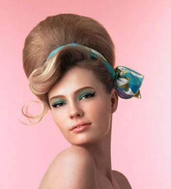 Penteados Anos  Estilos 60 – Fotos  cabelo anos60